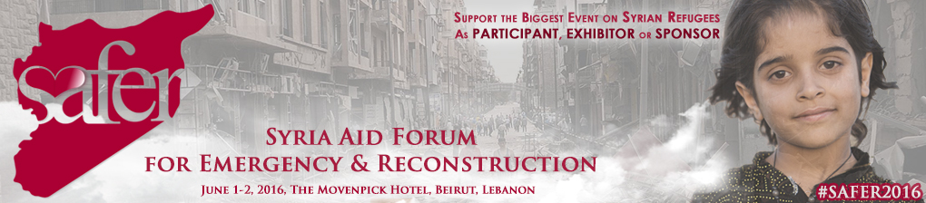 Syrian Aid Forum for Emergency and Reconstruction (SAFER 2016)